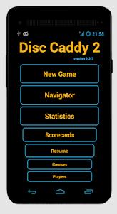 Disc Caddy 2 - Disc Golf app  screenshot 1