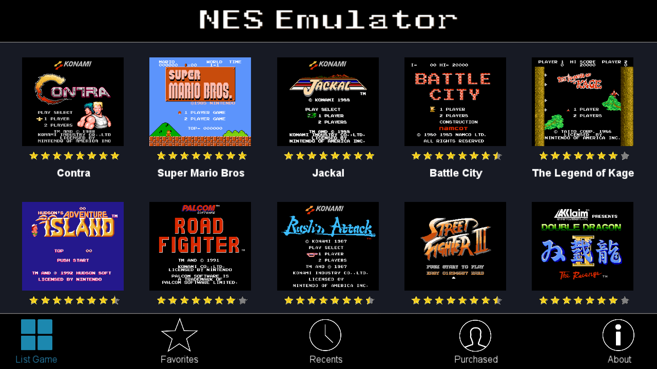 NES Emulator (CoolNES) - The best free Emulator 2 0 APK