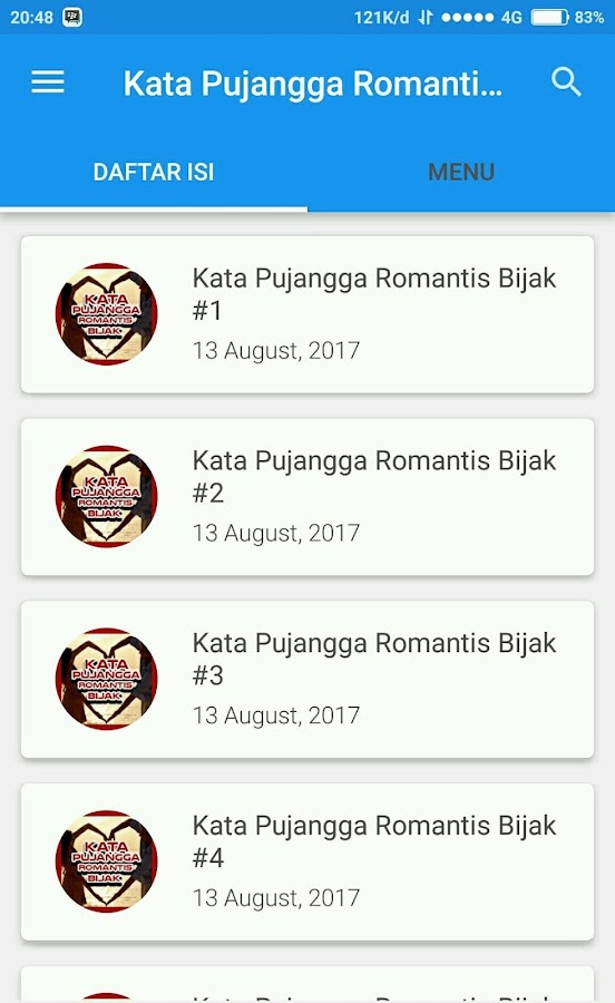 Kata Pujangga Romantis Bijak 240 Apk Download Android
