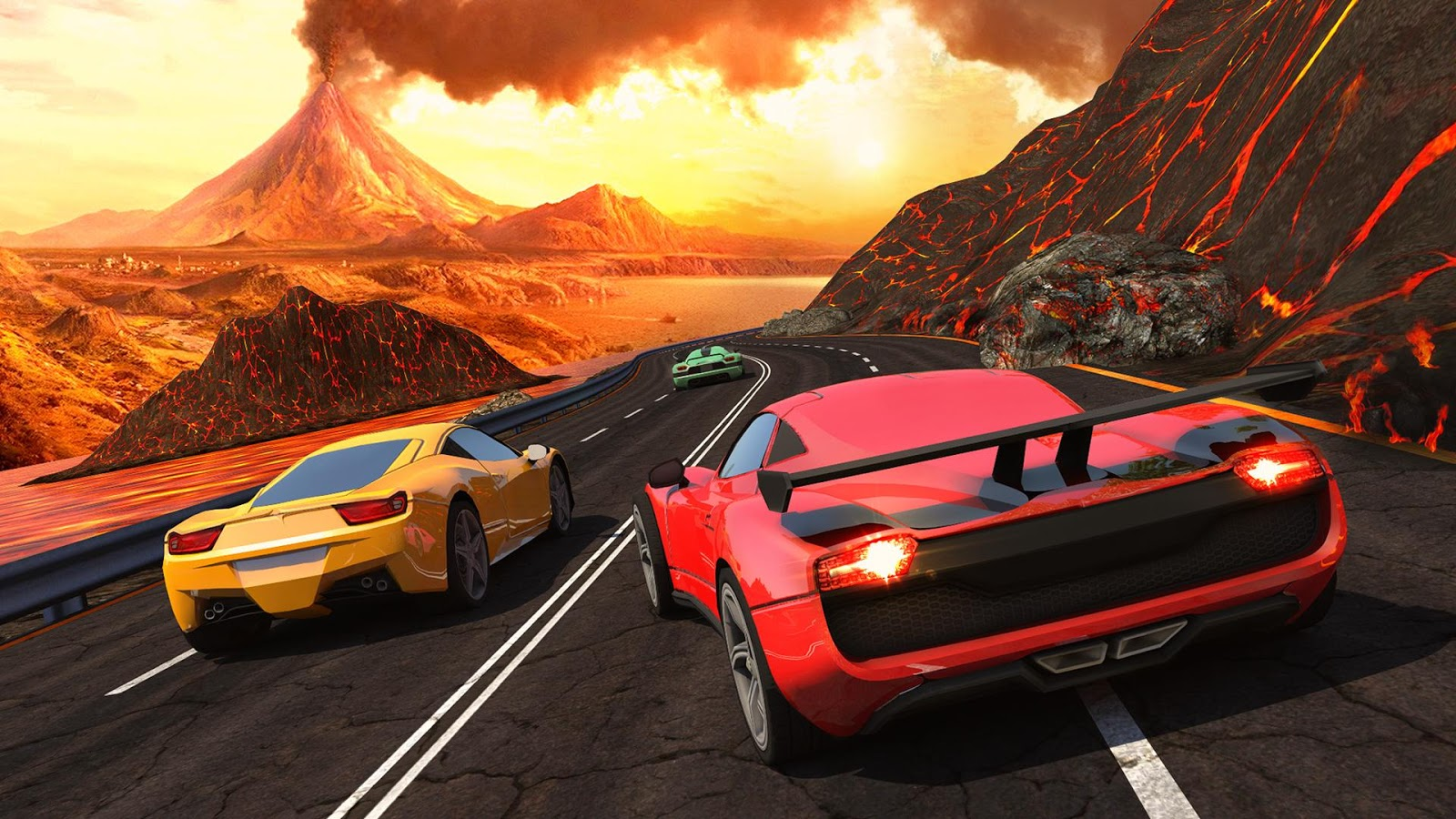 Fast racing 3D games for iPhone 2018