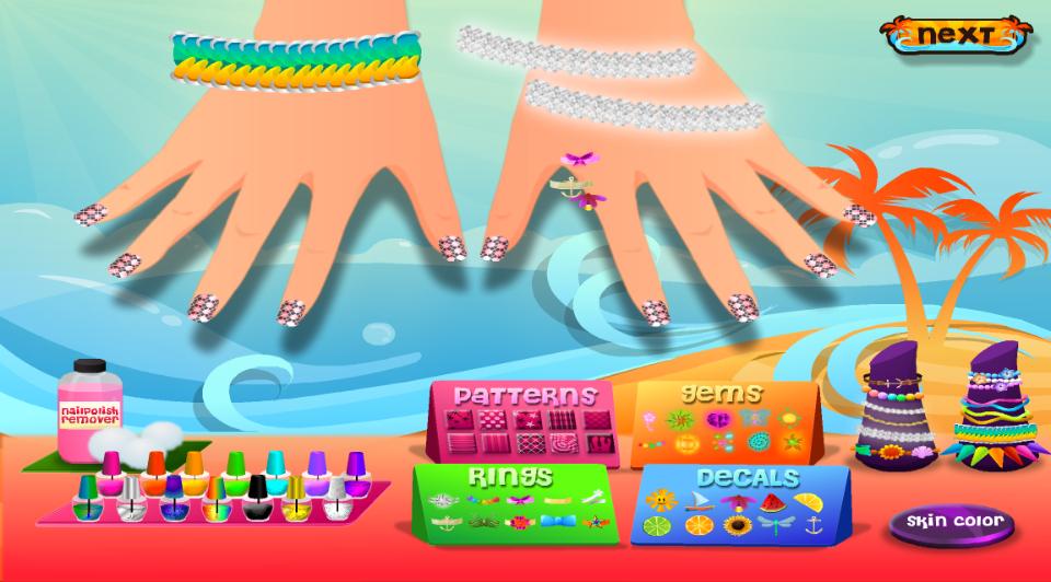 Princess Nail Salon Kids Games 100 Apk Download Android