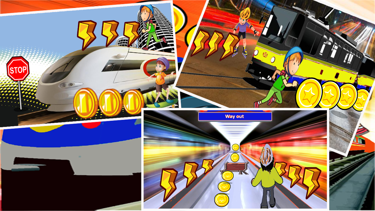 Subway Rail Rush Game FREE! 2 0 APK Download - Android Adventure Games