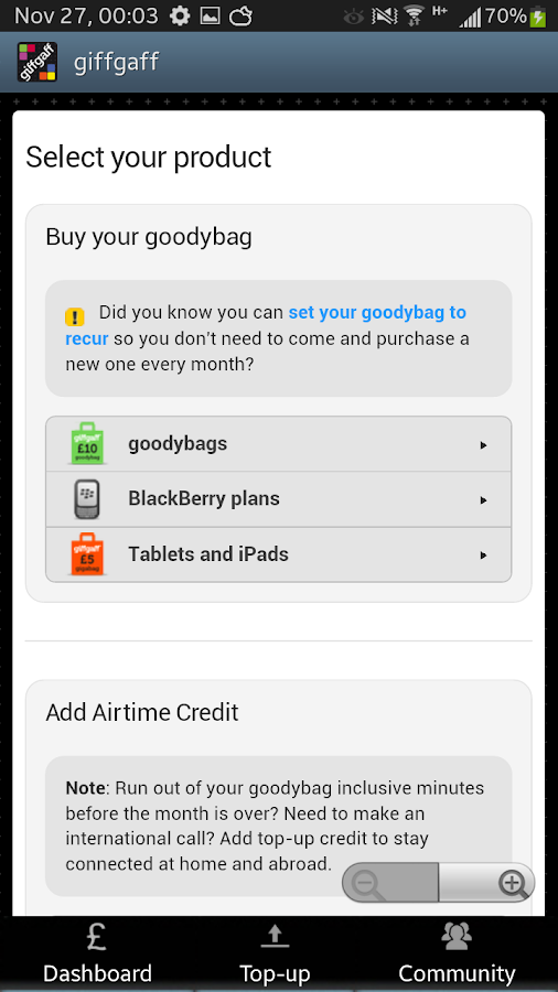 giffgaff app 6 0 4 APK Download - Android Social Apps