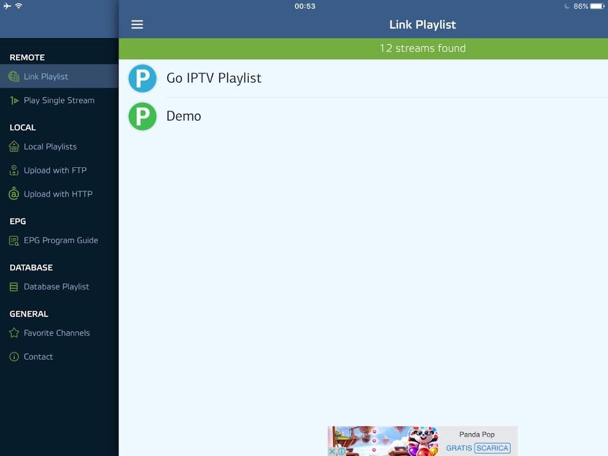 Go IPTV M3U 1 0 12 APK Download - Android cats