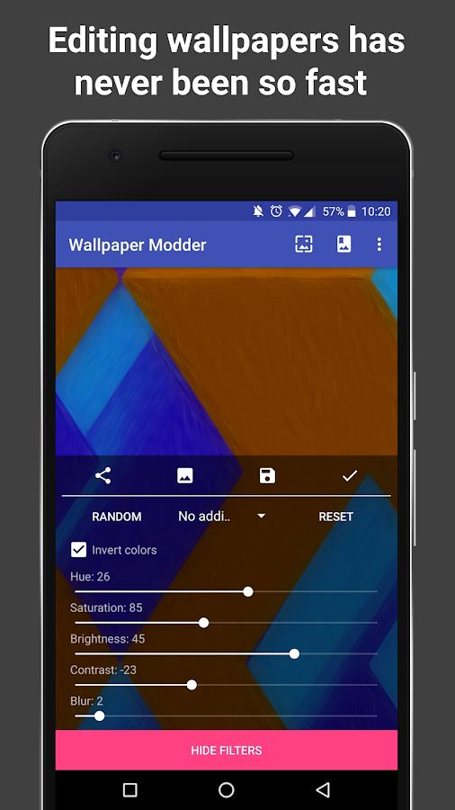 Wallpaper Modder - Wallpaper Editor, Setter, Saver 7.2 screenshot 1 ...
