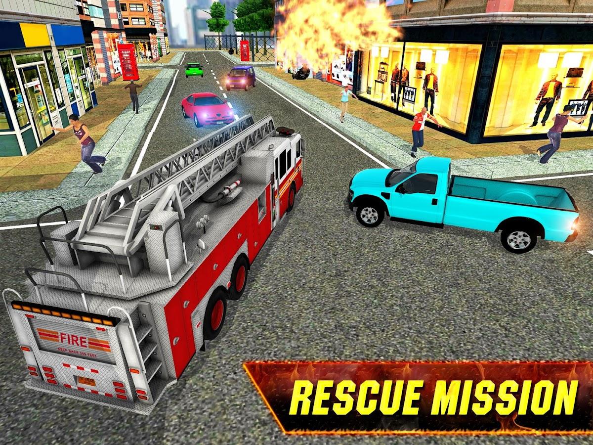 Fire Truck Rescue: City Firefighter Hero 3D 1 2 APK Download