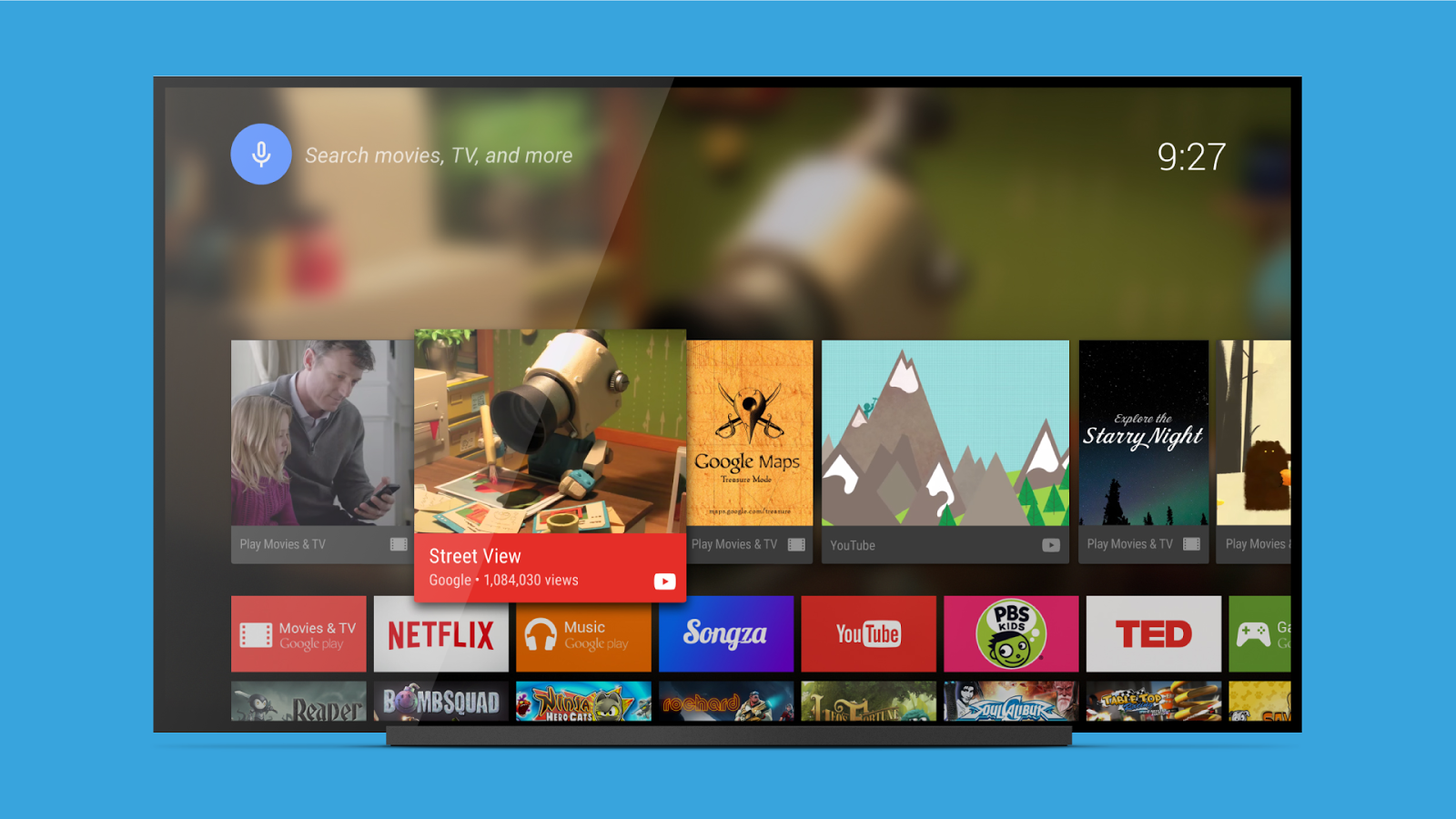 Android TV Launcher 1 11 2-100-4443508 APK Download - Android Tools Apps