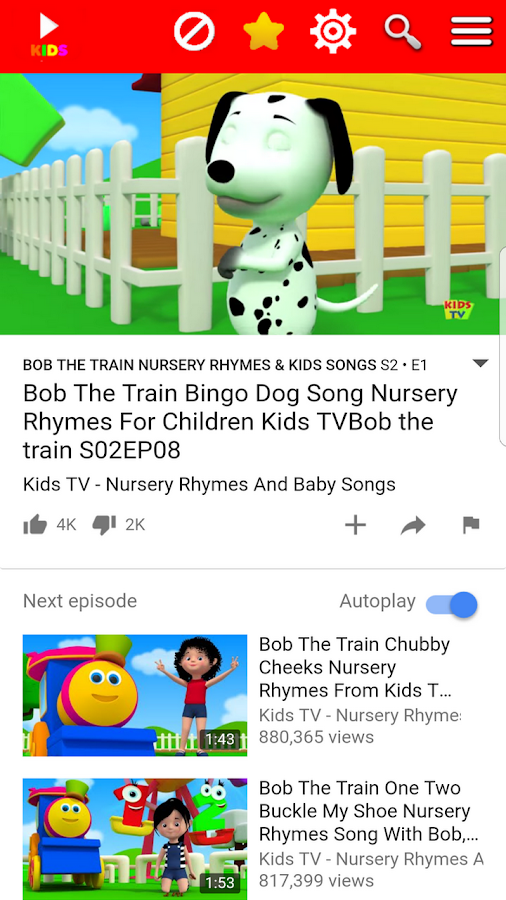 Kids player for YouTube 2 6 APK Download - Android Education Apps