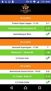 Wed Betting Tips 8.0 screenshot 1