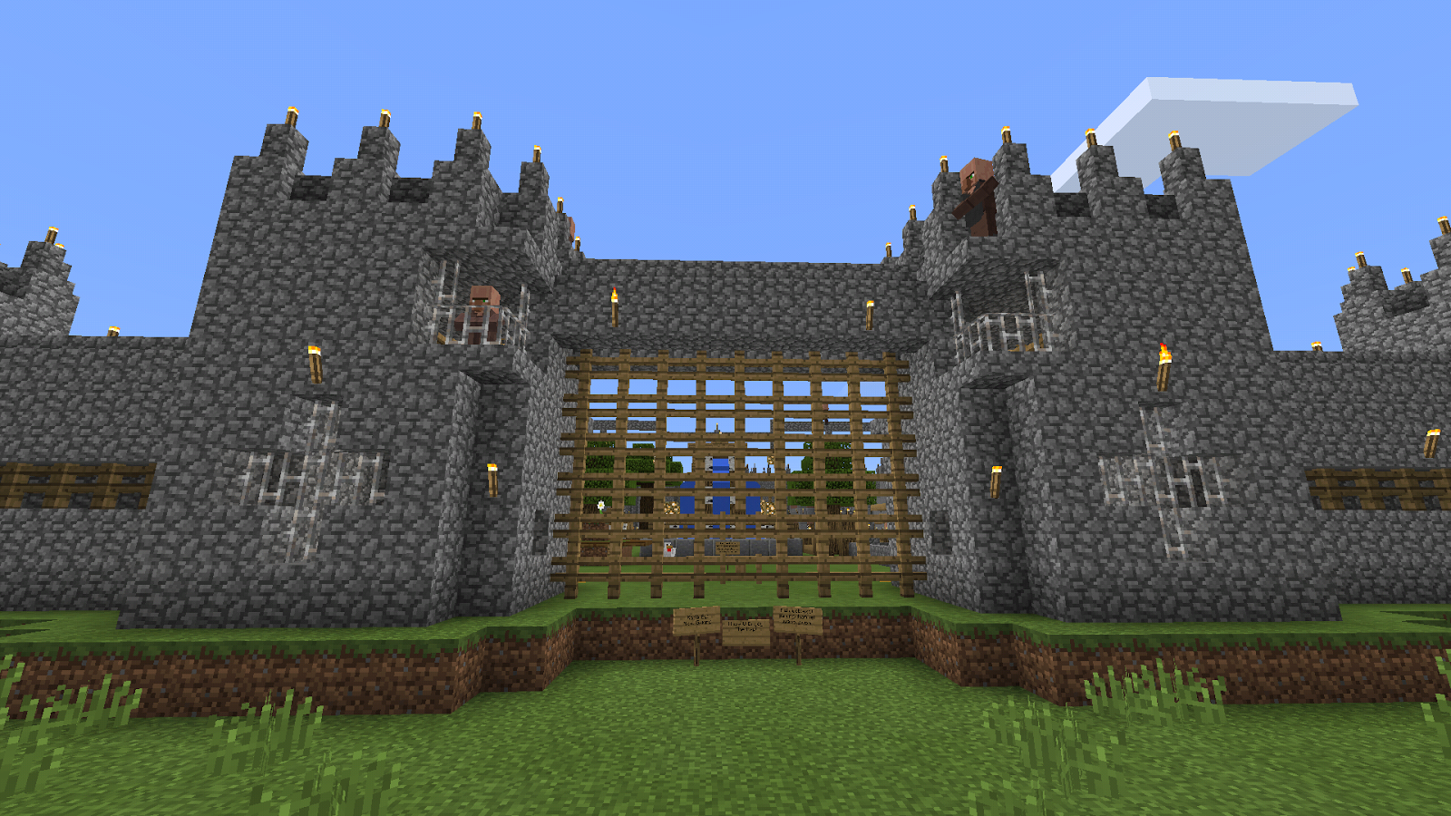 Giant Castle Minecraft map 1 0 0 APK Download - Android
