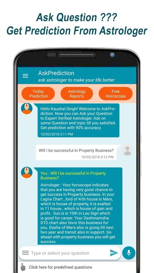 Ask Prediction: Ask Guru on Trusted Astrology App 1 3 10 APK
