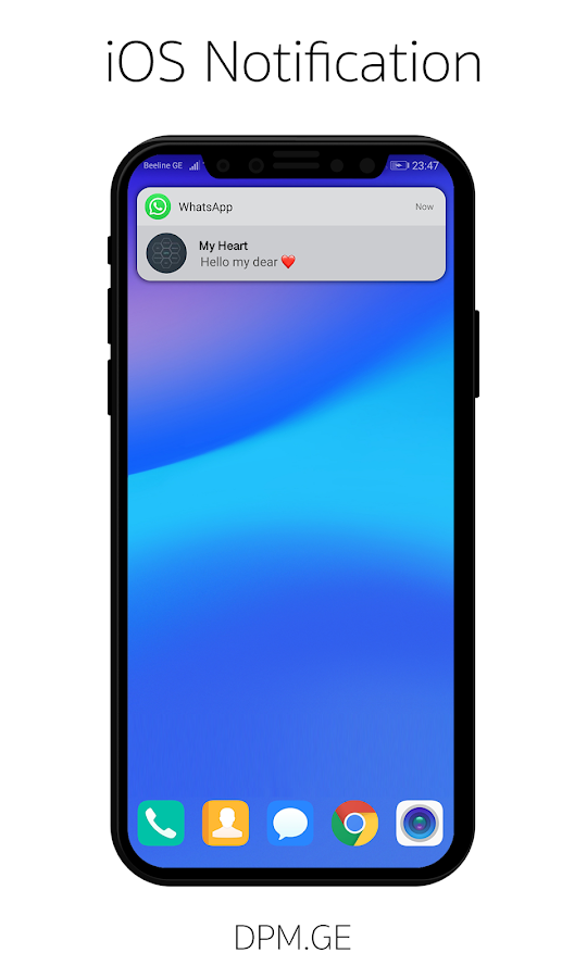 iOS Notification 2 0 APK Download - Android Tools Apps