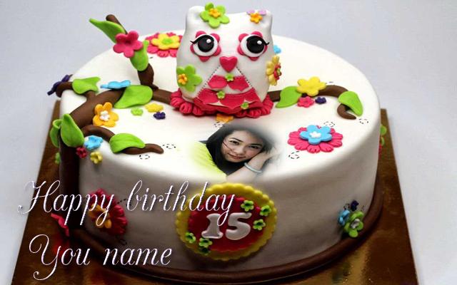 Birthday Cake Photo Frame Name 10 Screenshot 21