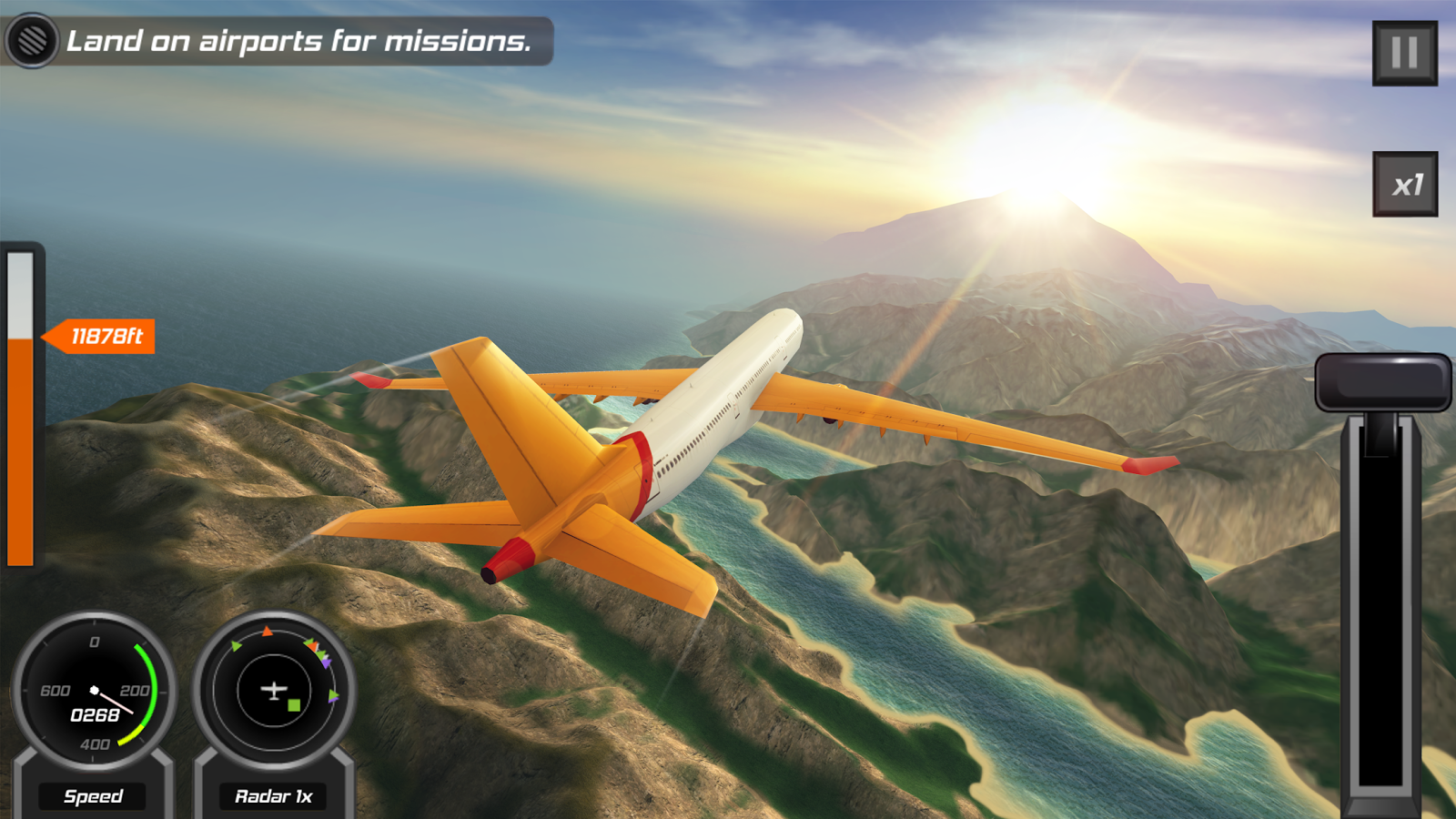 Play Free Online Games - Take to the Skies - Agame.com
