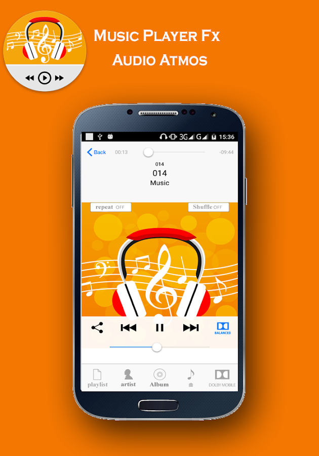 Surround Dolby atmos Music Player 2 0 1 APK Download - Android Music