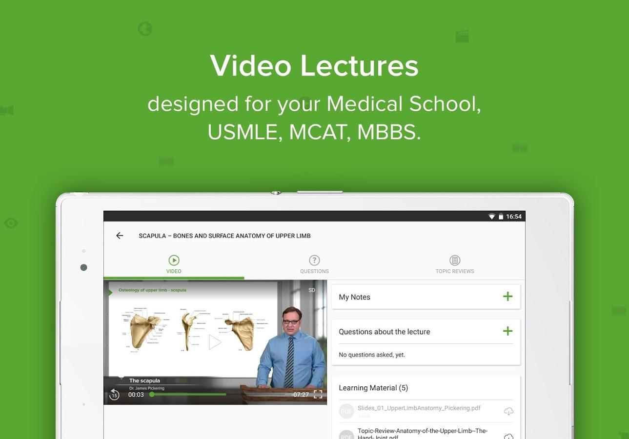 Lecturio USMLE Videos & Qbank (Med School & Board) 5.1.2 APK ...