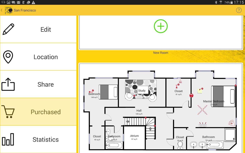 Stanley floor plan 5 3 1 apk download android for Floor layout app
