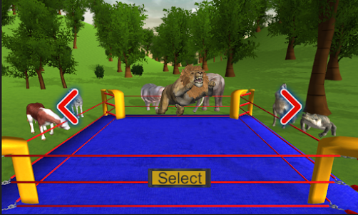 Real Animal Ring Fighting 1.0 screenshot 14