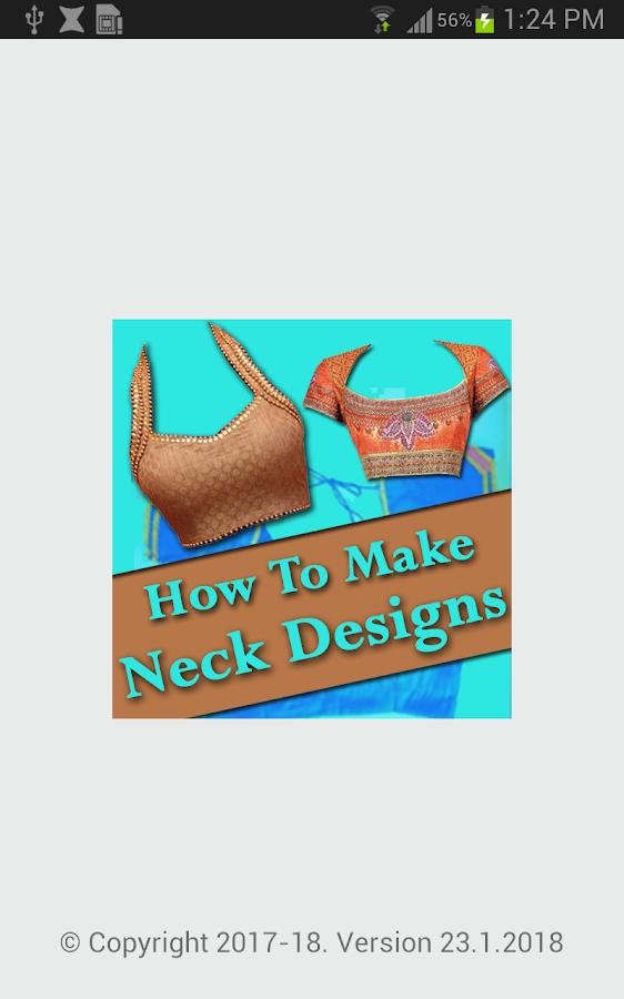 NECK Designs 2018 : How to Cut & Stitch Neck Video 23 1 2018