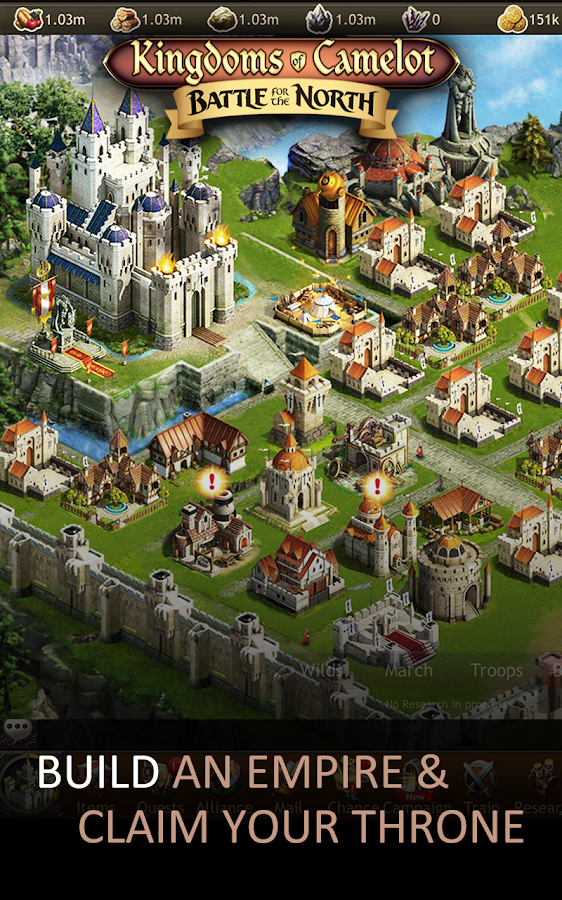Kingdoms of Camelot: Battle 20.1.1 APK Download - Android Strategy on elsword map, merlin map, mabinogi map, runes of magic map,