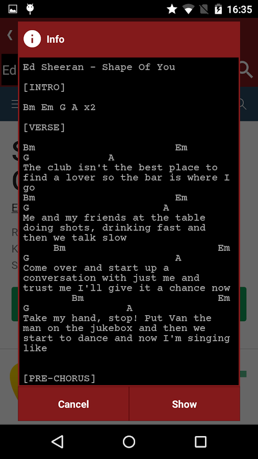Srt Chords Tabs Songbook 101 Apk Download Android Music
