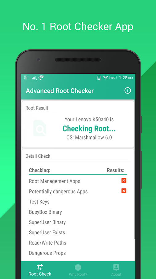 Advanced Root Checker 1 3 APK Download - Android Tools Apps
