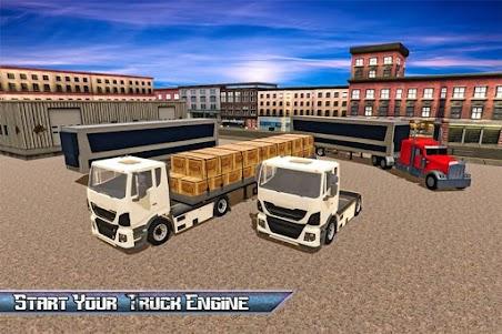 Transport Truck USA Driver SIM 1.0 screenshot 1
