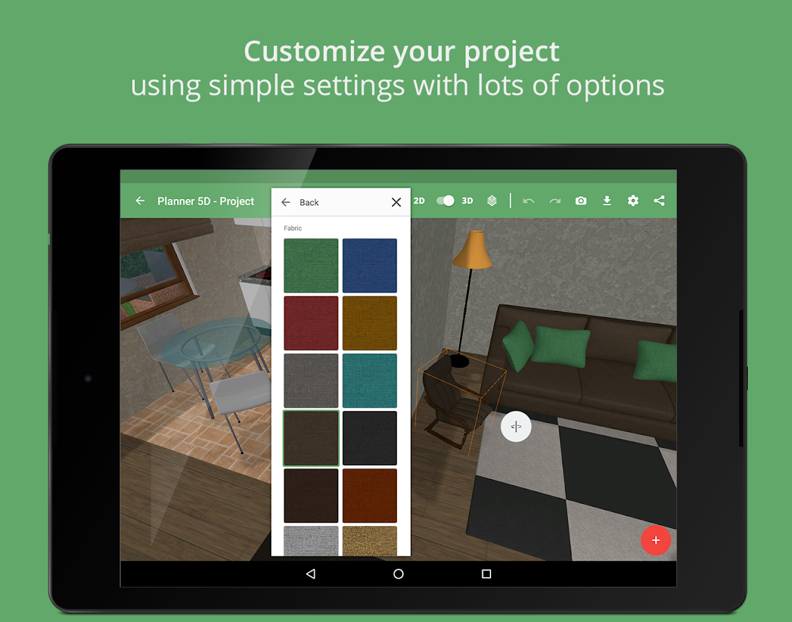 Planner 5D - Lite 1 7 0 APK Download - Android Lifestyle Apps