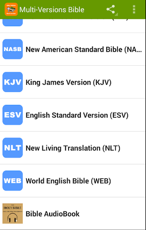 Multi Version Bible Free Download KJV✟NKJV✟NIV✟NLT 22 24