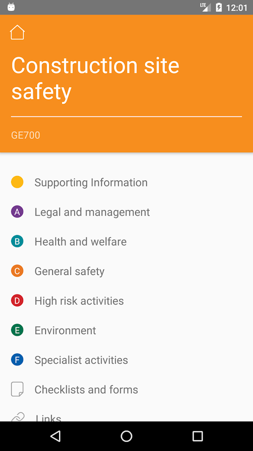 Citb health safety and environment publications 111 apk download citb health safety and environment publications 111 screenshot 2 fandeluxe Gallery