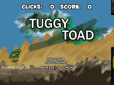 Tuggy Toad 1.0 screenshot 1