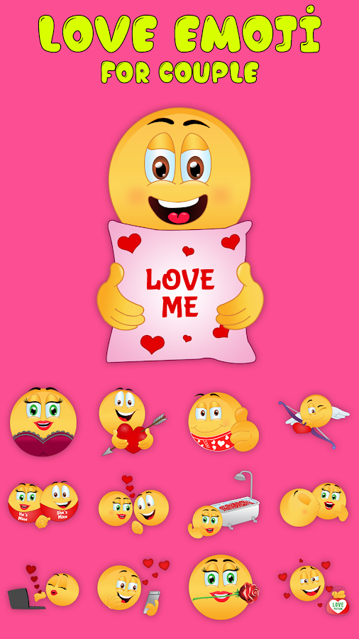 Love Emoji Stickers - Dirty Icons and Sexy Texting 1 1 APK