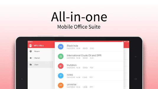 WPS Office - Word, Docs, PDF, Note, Slide & Sheet 11.3 screenshot 10