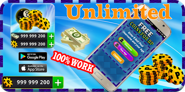 Instant ball Pool Daily Rewards Free Coins & cash 1.1 screenshot 2