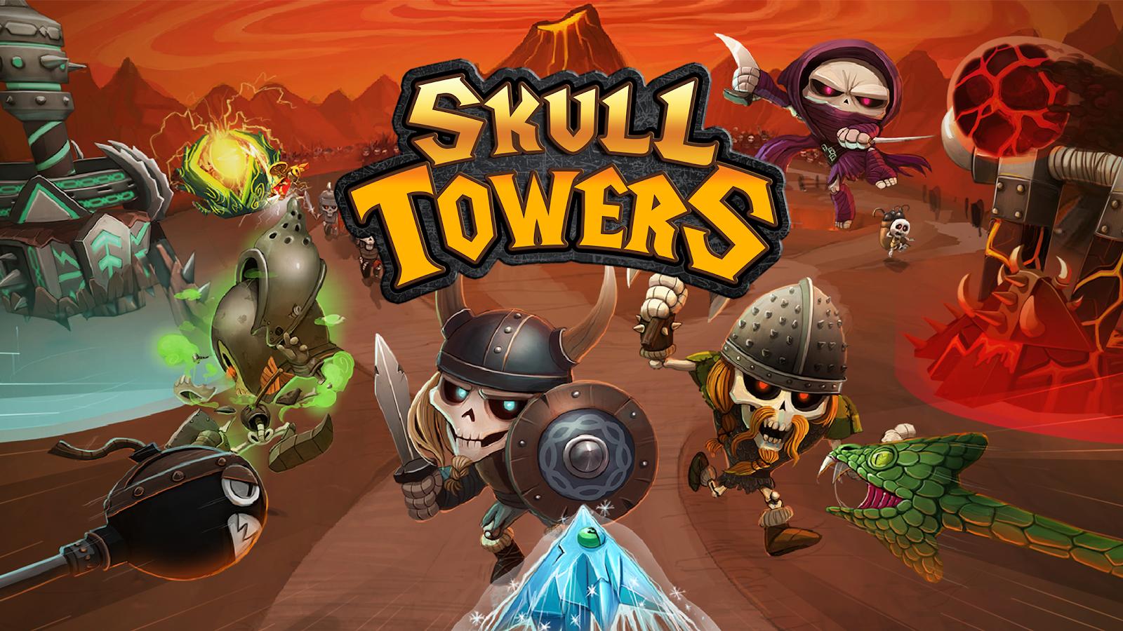 2ed77f8e5ed Skull Towers  Offline Games Castle Defense 1.1.6 APK Download ...