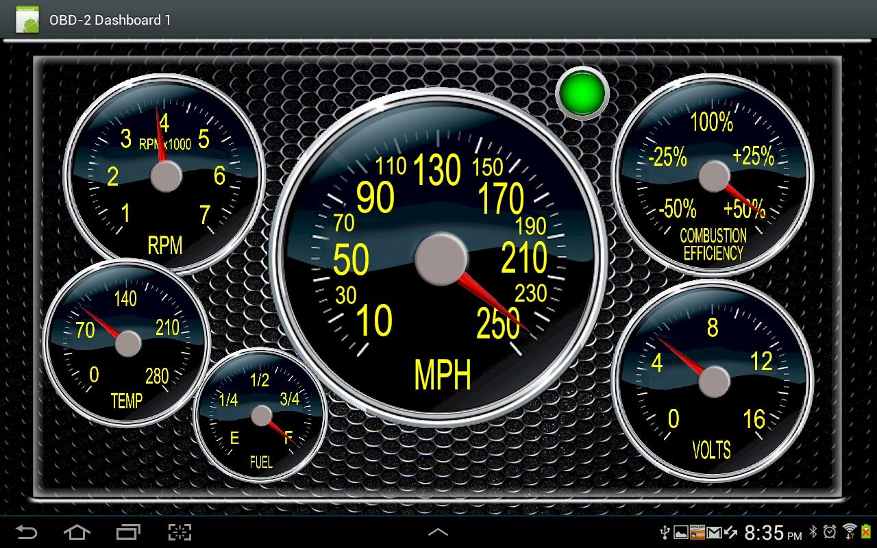 obd2 dashboard 1 obd2 cars obd2dashboard1 2 apk download android apps. Black Bedroom Furniture Sets. Home Design Ideas