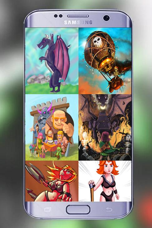 Royal Fanart Coc Wallpapers Hd 20 Apk Download Android