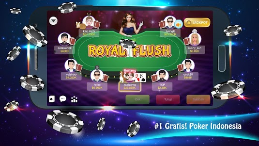 Java Poker Texas:Pulsa Free 1.3 screenshot 3