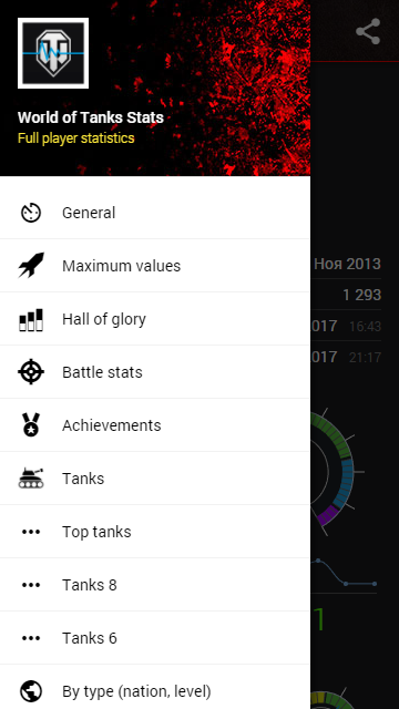 World of Tanks Stats 2 1 7 APK Download - Android Entertainment Apps