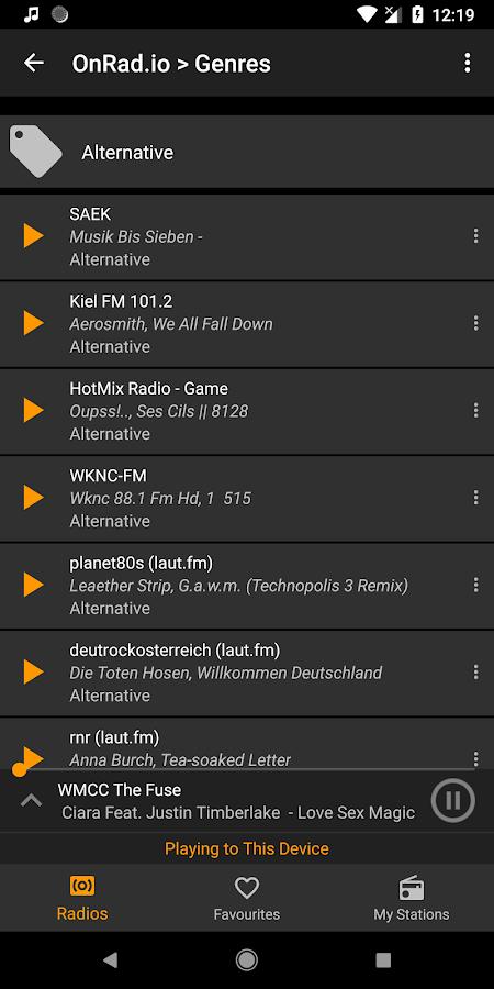 Raydio - Internet Radio Player 1 012 APK Download - Android