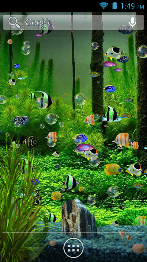 Aquarium Live Wallpaper 2.4 screenshot 1 ...