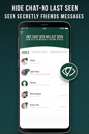 Hide Chat Seen Unseen Status Saver For Whatsapp 13 Apk