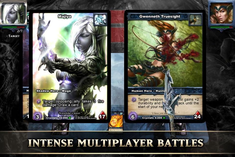 Shadow era trading card game apk download from moboplay.