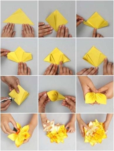 Paper Flower Craft Tutorial 13 Screenshot 4