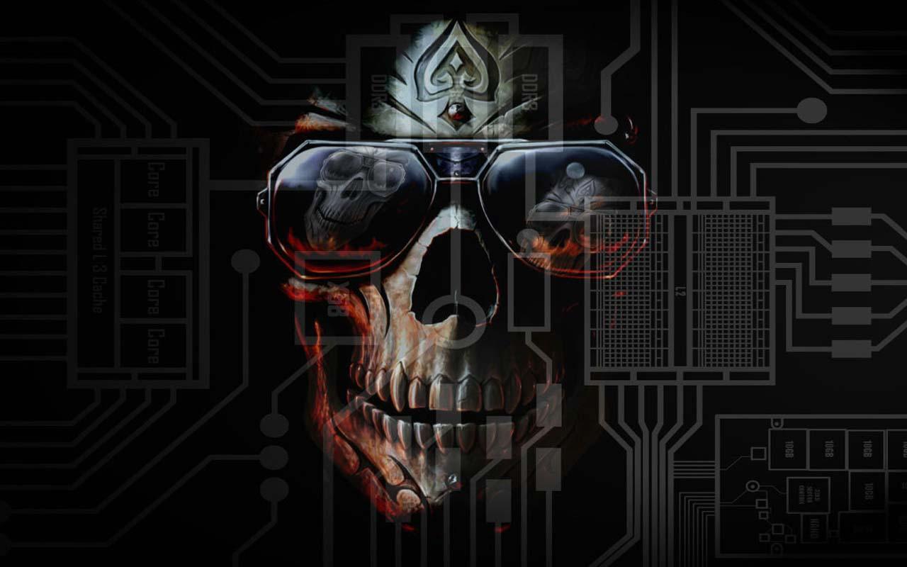 Skull 3d Wallpaper: 3D Horror Skull HD Wallpapers 1.0 APK Download