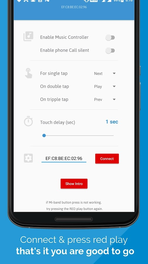 Mi band 2 Music & Call Manager 1 4 APK Download - Android Здоровье и