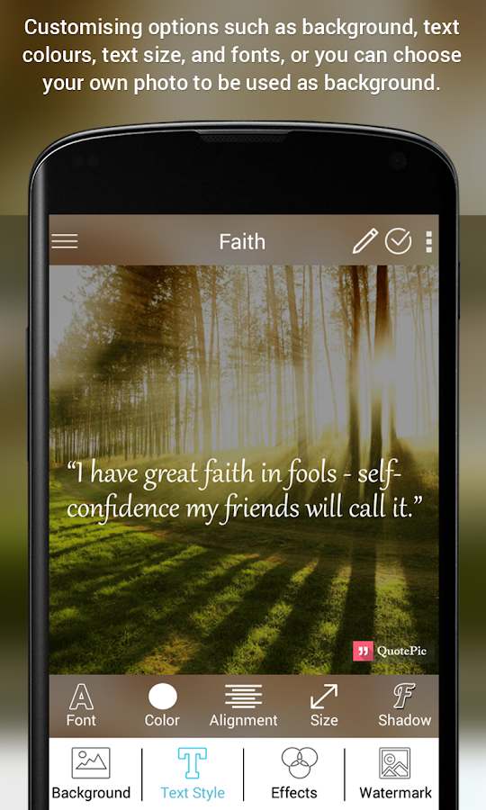 Quotepic Daily Inspirational Quotes Creator 112 Apk Download