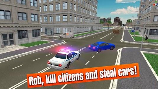 California Crime City Race 3D 1.1 screenshot 2