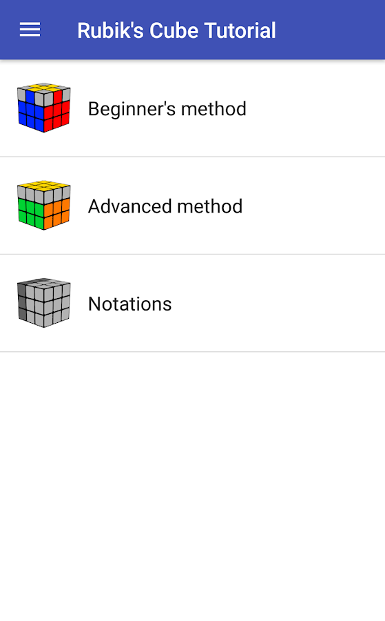 Learn to Solve Rubik's Cube 1 8 APK Download - Android Entertainment