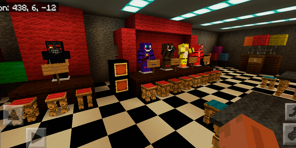 FNAF Horror Pizzeria Simulator  Map for MCPE 10 APK Download